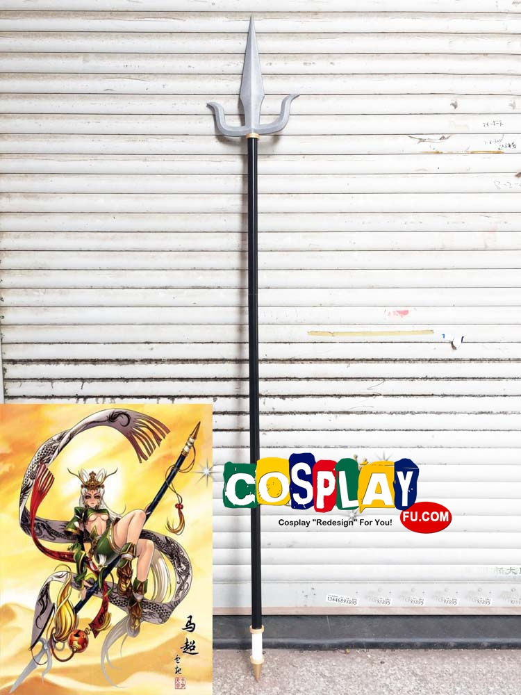 Ma Chao Cosplay Costume Spear from Dynasty Warriors (1423)