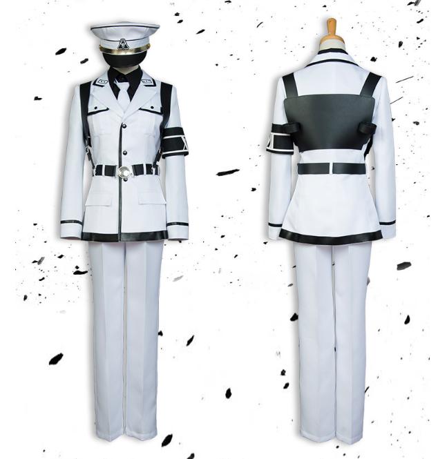 Nagamasa Midori Cosplay Costume from Aoharu x Machinegun (4911)