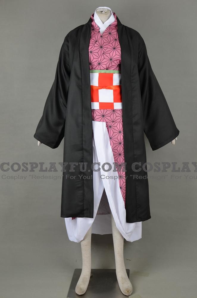 Custom Nezuko Kamado Cosplay Costume from Kimetsu no Yaiba ...