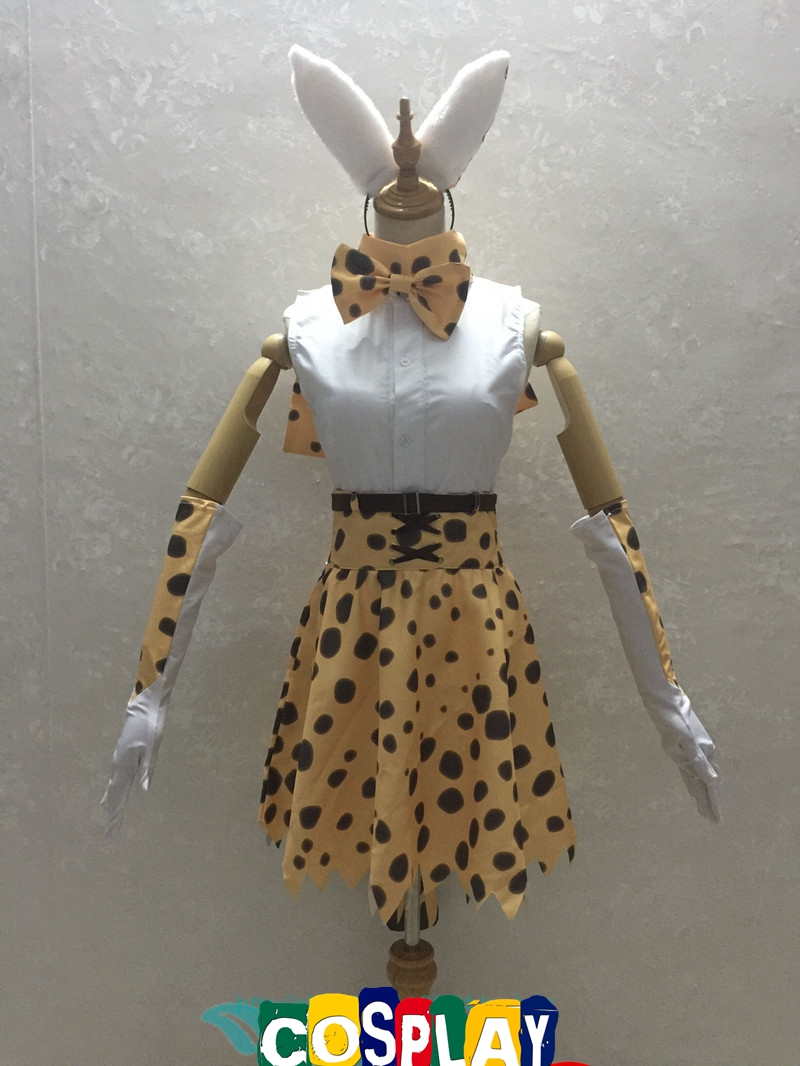 Serval Cosplay Costume from Kemono Friends (5187)