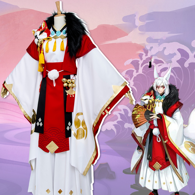 Youko Cosplay Costume from Onmyoji (6304)