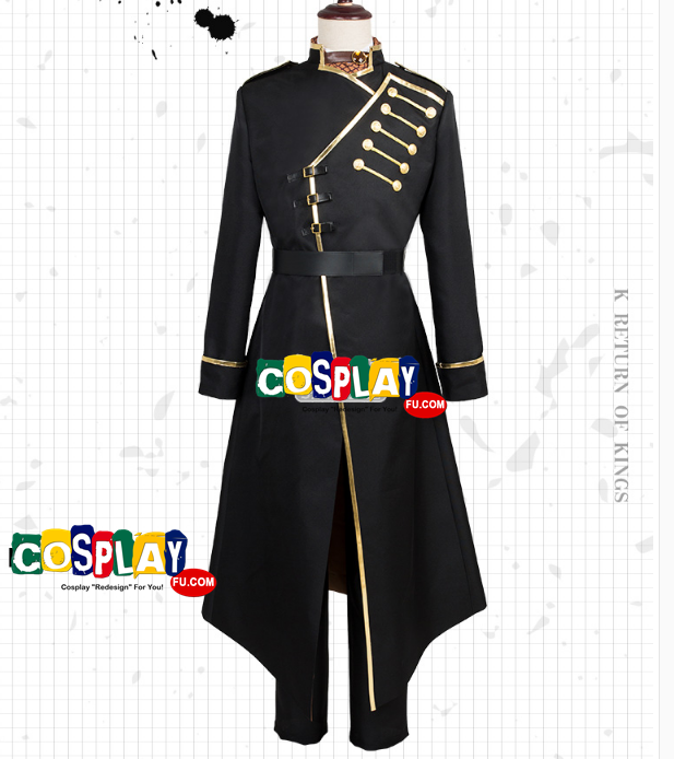 Yashiro Isana Cosplay Costume from K (6374)