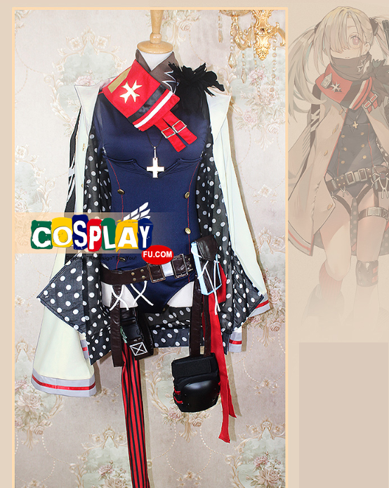 HK21 Cosplay Costume from Girls' Frontline (6696)