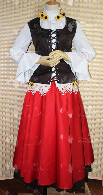 Felix Lukasiewicz (Poland) Cosplay Costume from Axis Powers Hetalia (6986)