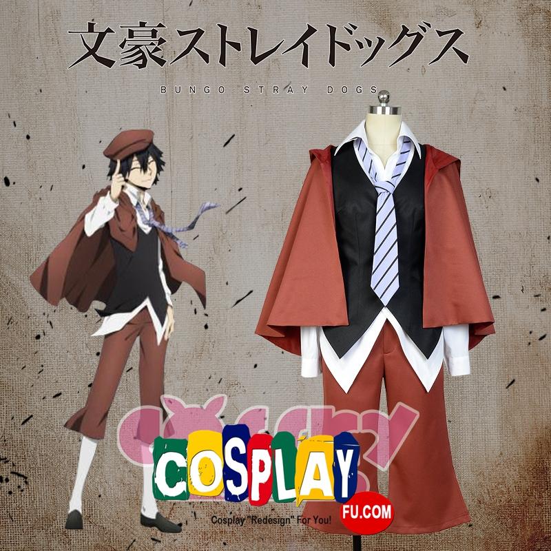Edgar Allan Poe Cosplay Costume from Bungou Stray Dogs (6905)