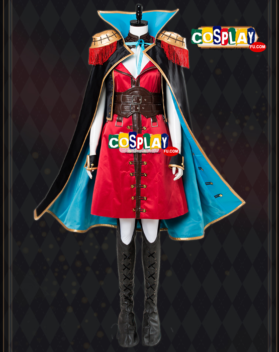 Francis Drake Cosplay Costume from Fate Stay Night (6888)