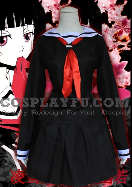 Ai Cosplay Costume from Hell Girl (4376)