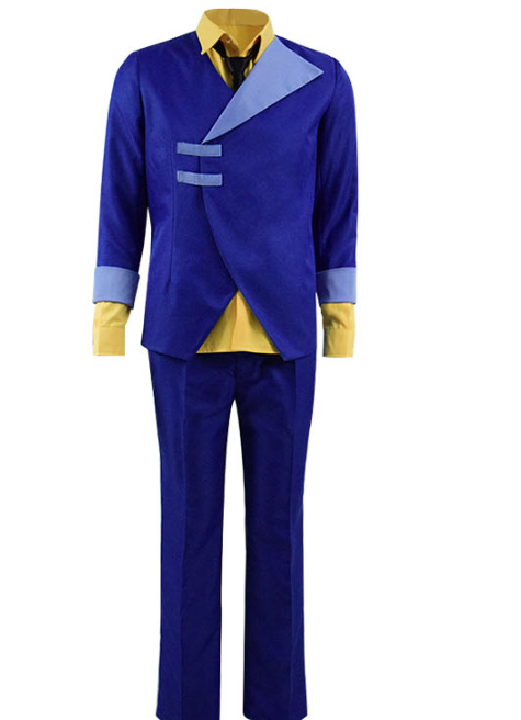 Spike Spiegel Cosplay Costume from Cowboy Bebop (5802)