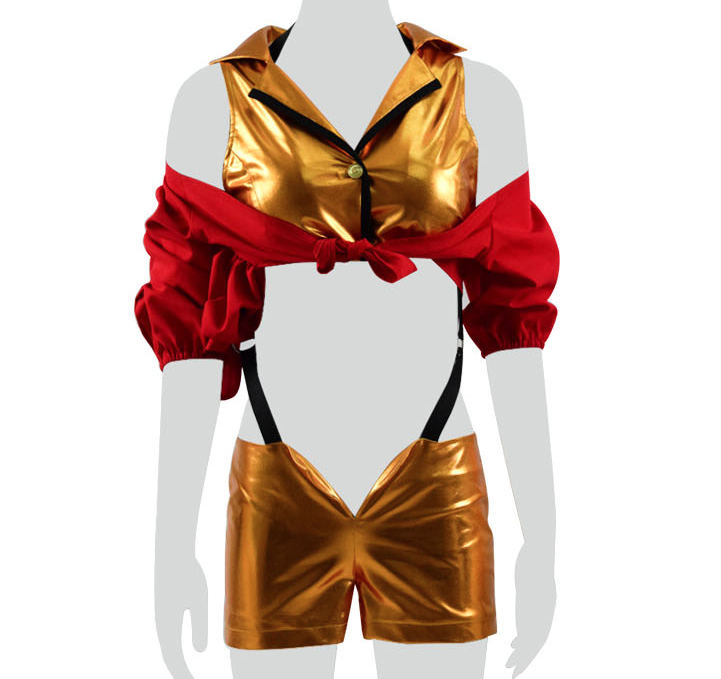Faye Valentine Cosplay Costume from Cowboy Bebop (5347)