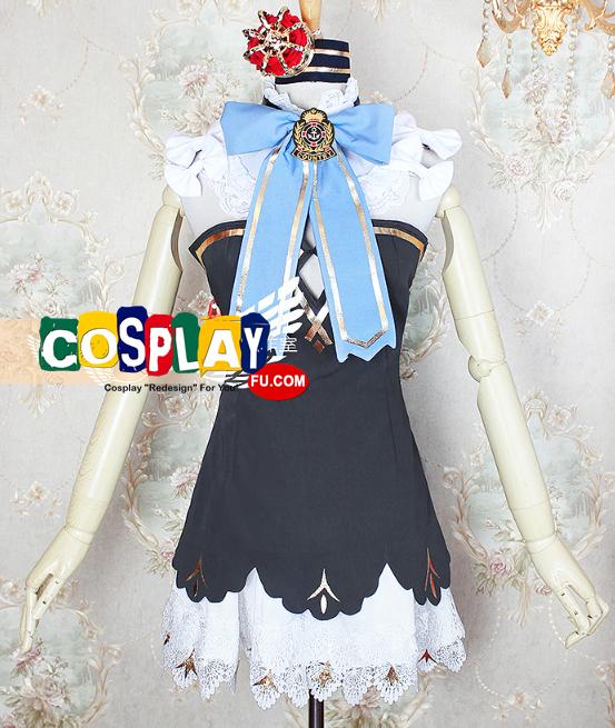 Queen Elizabeth Cosplay Costume from Azur Lane (6101)