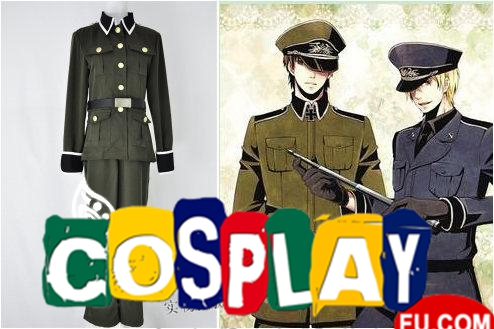 Ludwig Cosplay Costume from Axis Powers Hetalia (5223)
