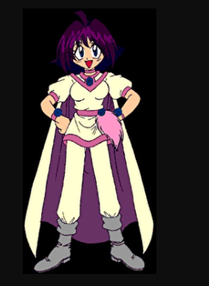 Amelia Cosplay Costume from Slayers Light Magic