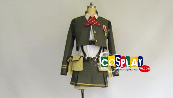Anti-Magic Academy: The 35th Test Platoon Ōka Ōtori Costume
