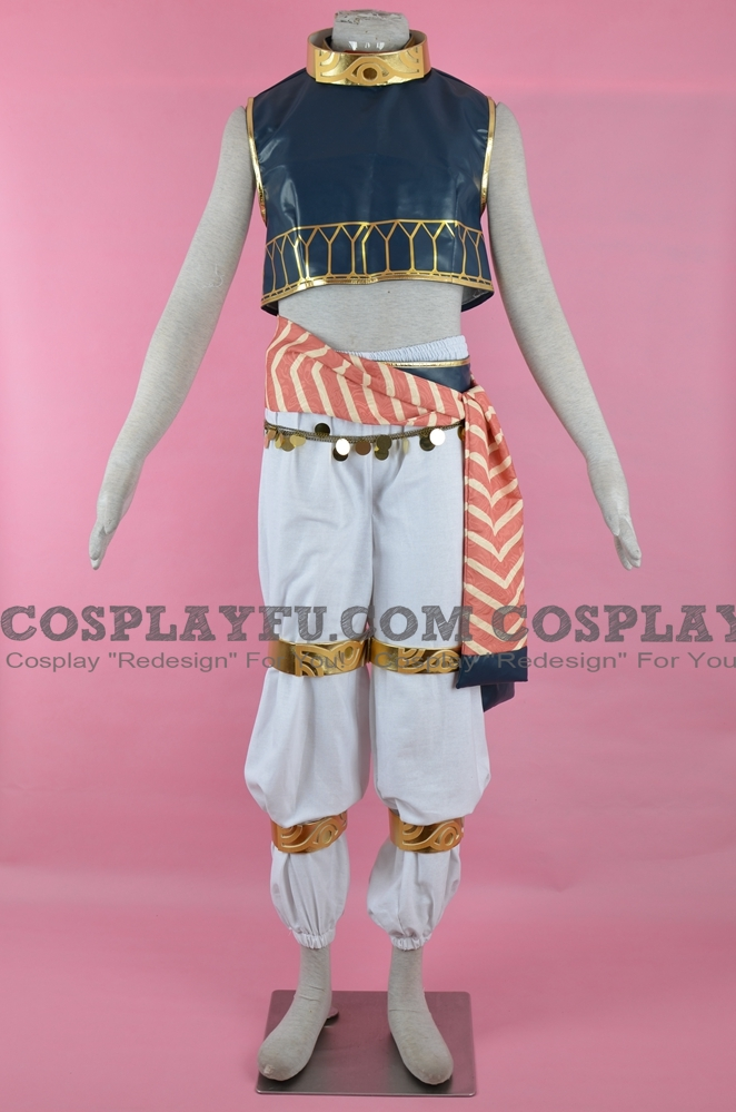 Enkidu Cosplay Costume from Fate Grand Order