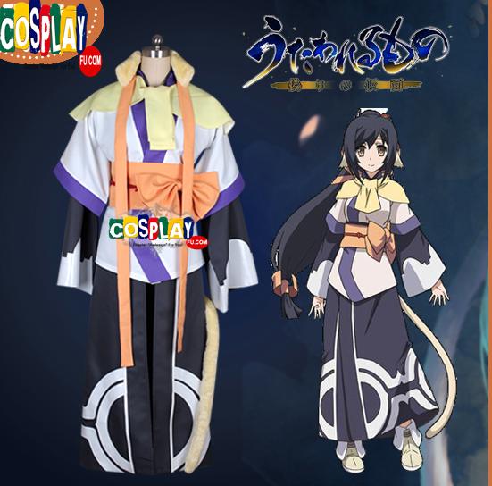 Kuon Cosplay Costume from Utawarerumono: Itsuwari no Kamen