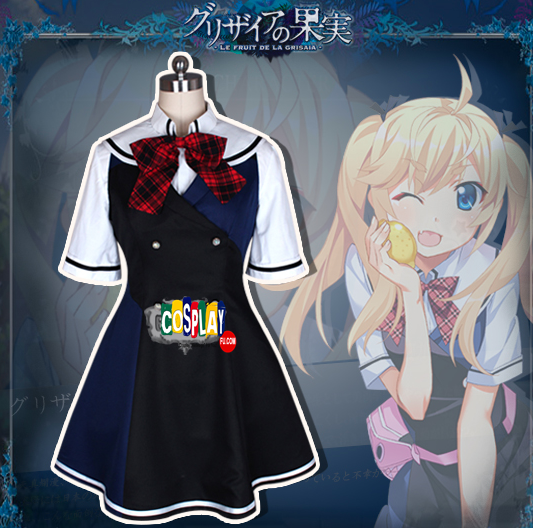 Makina Irisu Cosplay Costume (2nd) from The Fruit of Grisaia