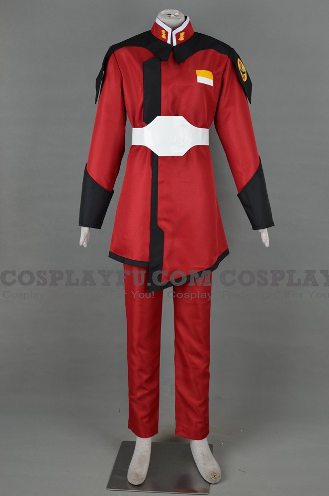 Zaft Uniform from Gundam Seed