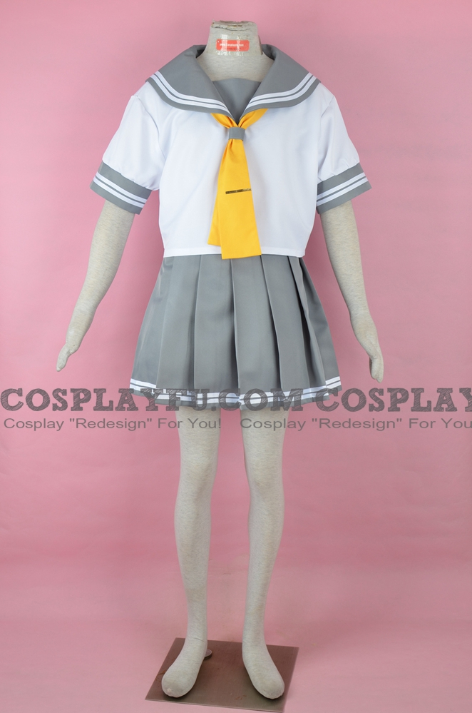 Summer School Uniform Cosplay Costume from Love Live! Sunshine!!