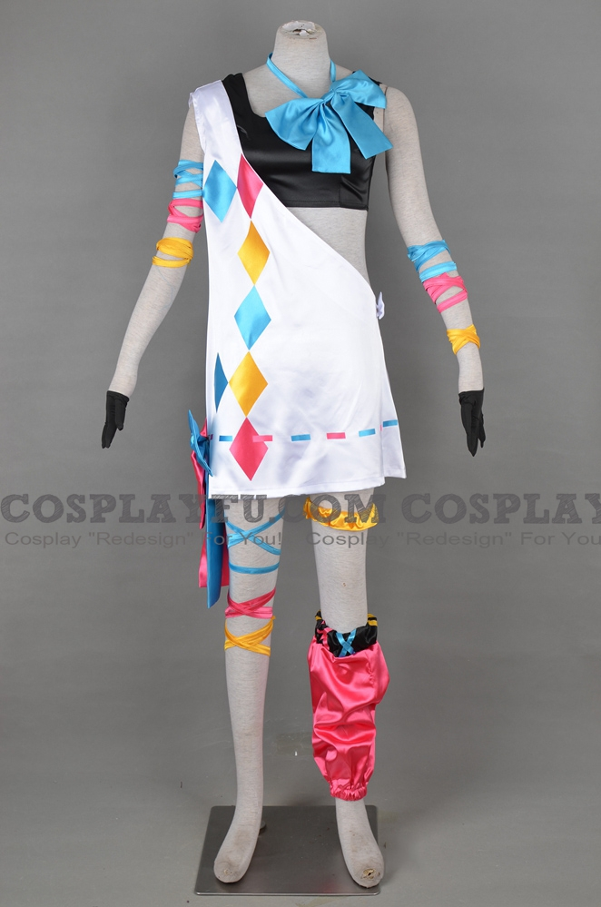 Pinky Cosplay Costume from Virtual Youtuber