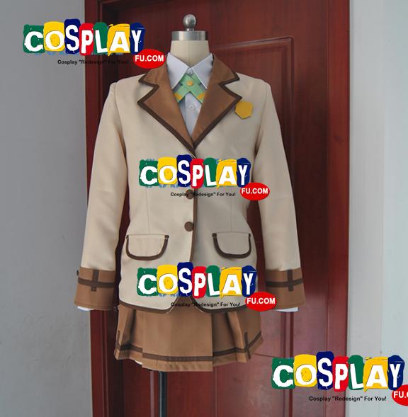 Hinata Yamabuki Cosplay Costume from Active Raid