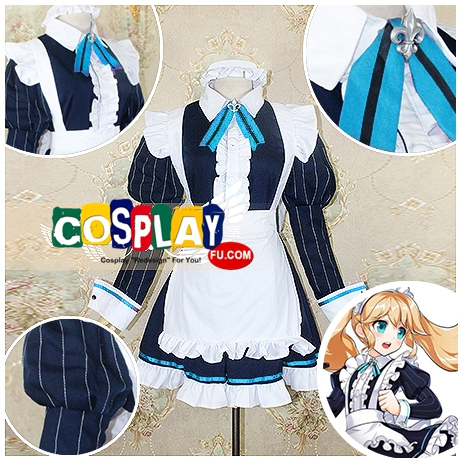 Chung Cosplay Costume from Elsword (5646)