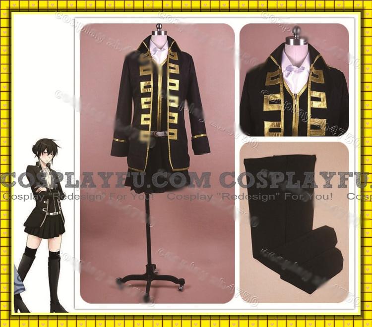 Toshiro Cosplay Costume (Female) from Gin Tama (5533)