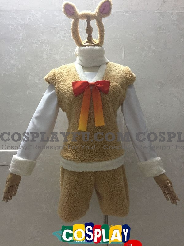 Alpaca Cosplay Costume from Kemono Friends (5887)