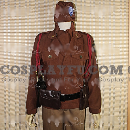 Alfred Cosplay Costume from Axis Powers Hetalia (5890)
