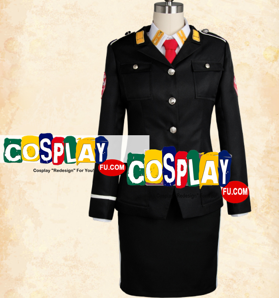 Eider (ACCA) Cosplay Costume from ACCA: 13-Territory Inspection Dept. (6579)