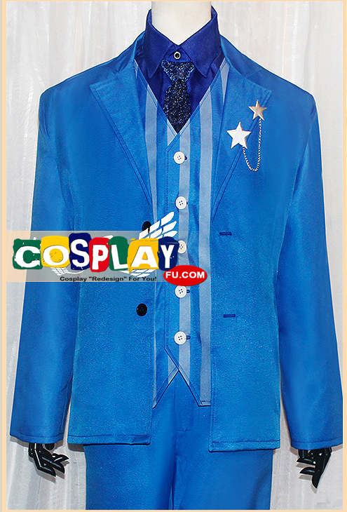 Alfred F Jones (America) Cosplay Costume from Axis Powers Hetalia (6098)