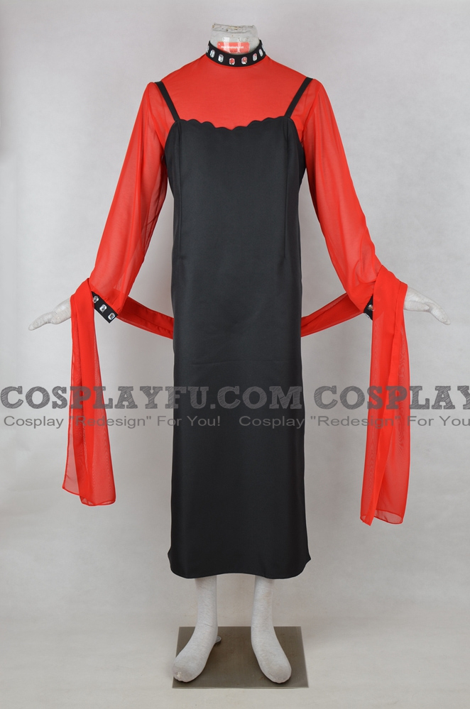 Black Lady Cosplay Costume from Sailor Moon