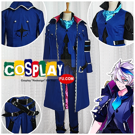 Ciel Cosplay (Dreadlord) Costume from Elsword (6551)