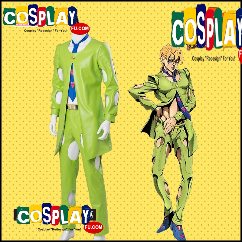 Pannacotta Cosplay Costume from JoJo's Bizarre Adventure (6323)