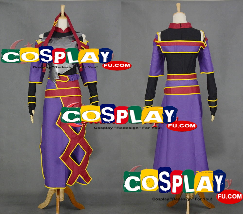 Yuuki Cosplay Costume from Sword Art Online (6357)