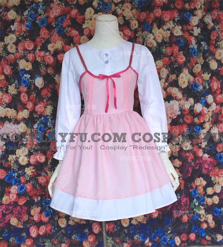 Kaori Cosplay Costume from Your Lie in April (4709)