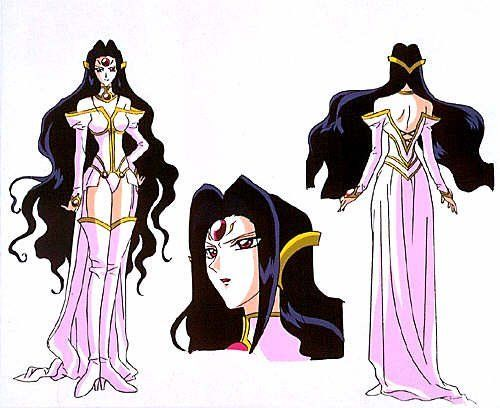 Alcyone Shoes from Magic Knight Rayearth