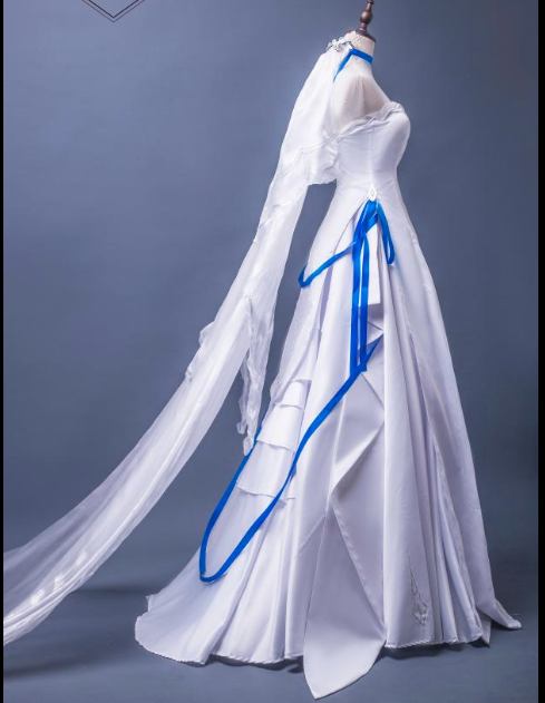 Vector Cosplay Costume (Wedding Dress) from Girls' Frontline