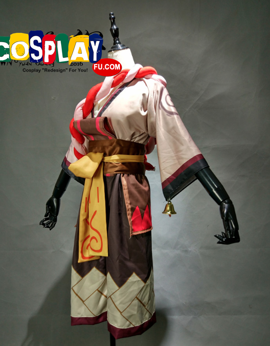Kyonshi Ani Cosplay Costume from Onmyoji