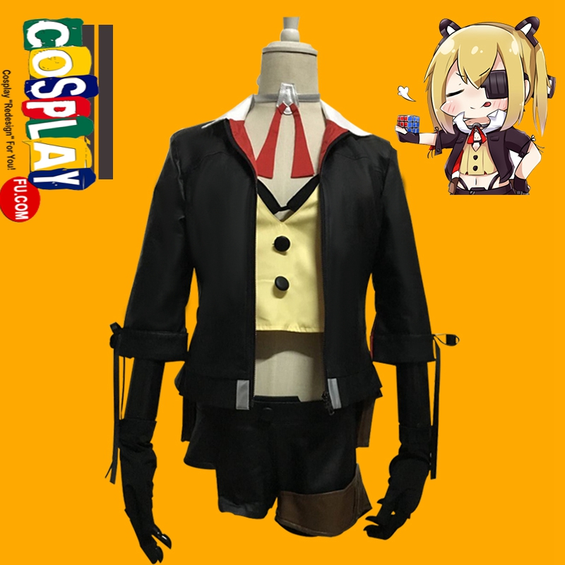 Skorpion Cosplay Costume from Girls' Frontline