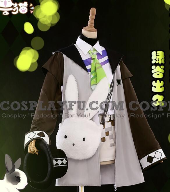 My Hero Academia Izuku Midoriya Kostüme (Rabbit Magician)