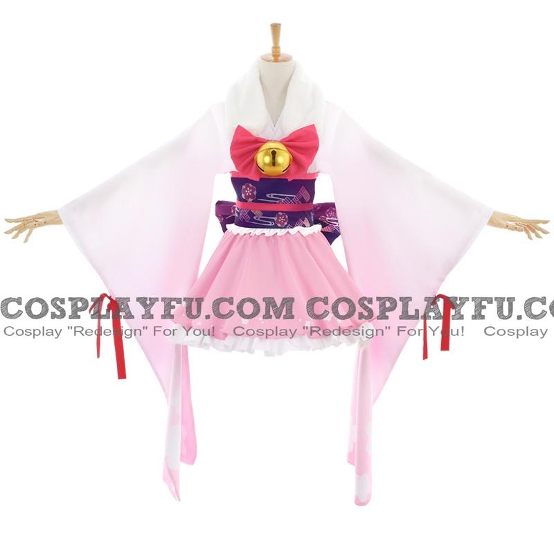 Kisaragi Cosplay Costume (Yukata) from Azur Lane
