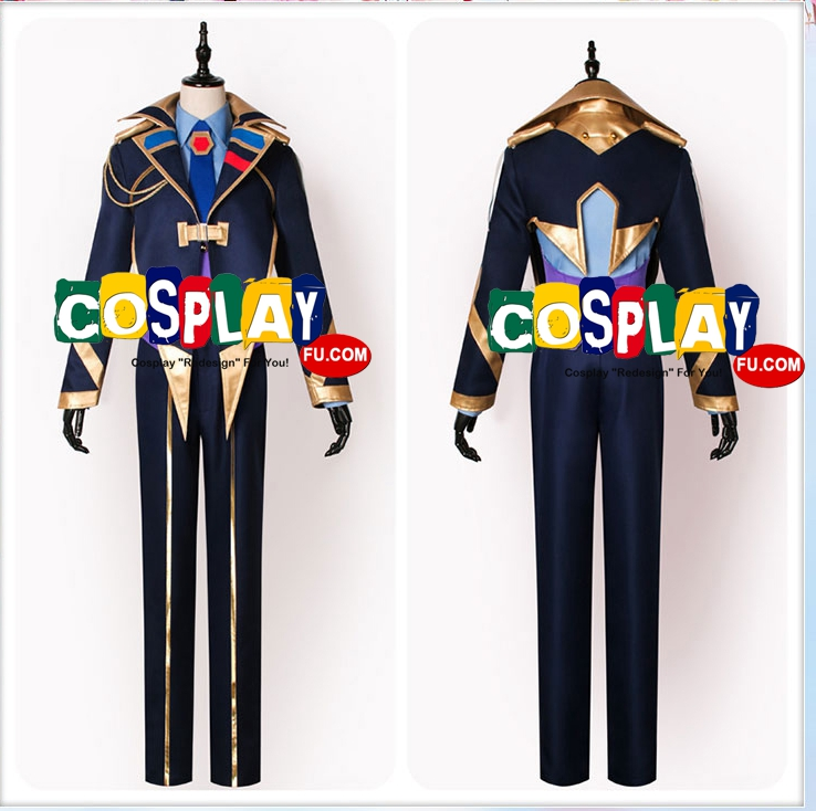 Keith Cosplay Costume from Macross Delta