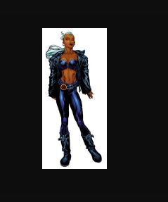 Storm Cosplay Costume (Leather) from X-Men