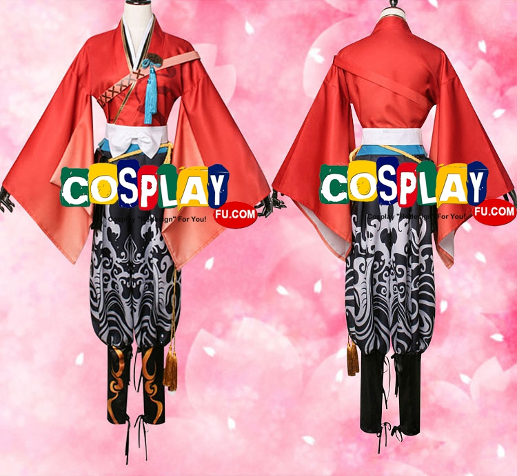 Mutsunokami Cosplay Costume (5123) from Touken Ranbu