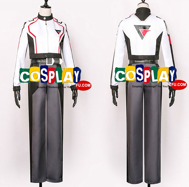 Messer Cosplay Costume from Macross Delta