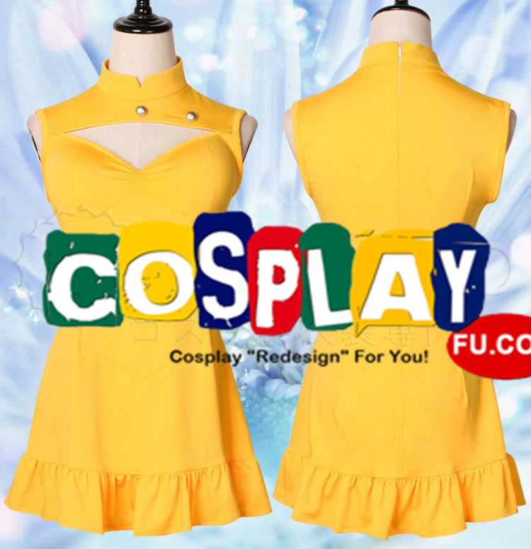 Diane Cosplay Costume (Yellow) from The Seven Deadly Sins