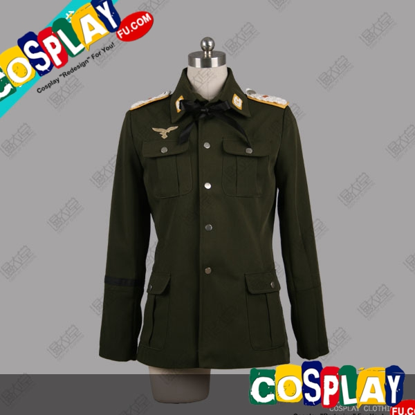 Minna-Dietlinde Cosplay Costume from Strike Witches