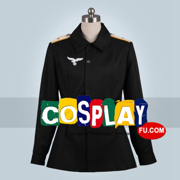Erica Cosplay Costume from Strike Witches