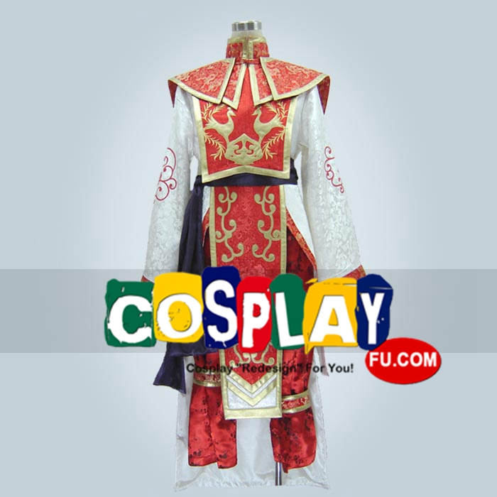 Zhou Cosplay Costume from Dynasty Warriors