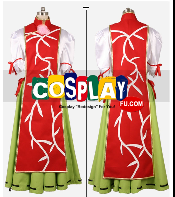 Kasen Cosplay Costume from Touhou Project